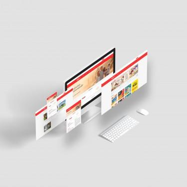 Веб сайт - Сеть маркетов Rahat